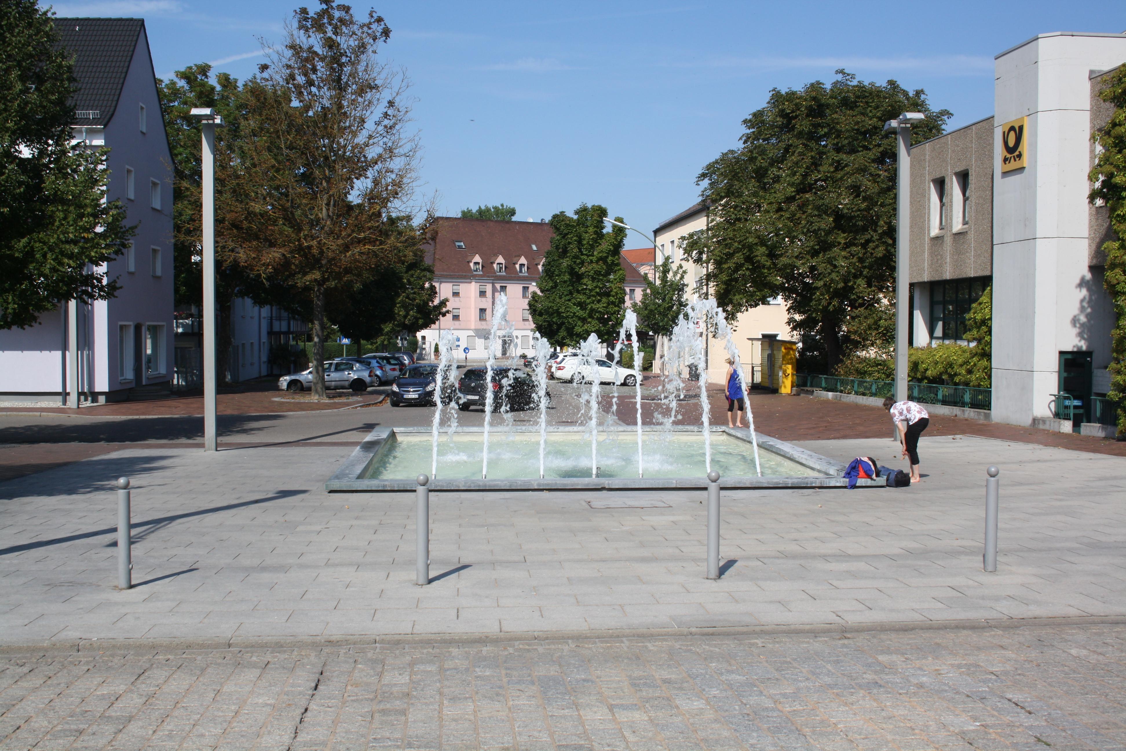 Bahnhofsvorplatz Donauwörth