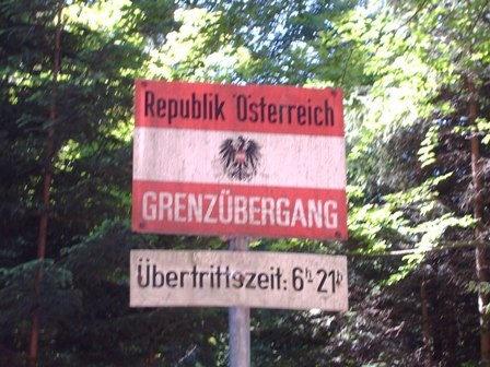 Grenzübergang österreich